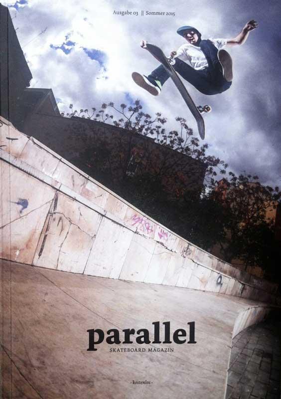Stephan Pöhlmann Parallel Magazine Cover