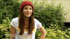 Anna Kruse ist im Fernsehen bei Mieten, Kaufen Wohnen