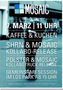 2 Jahre Jubiläum vom Mosaic Shop in Gießen