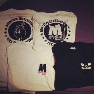 Neue Morphium Skateboards T-Shirts