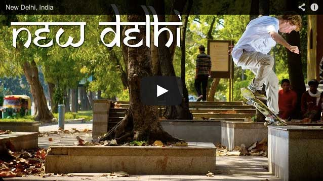Philipp Schäfer New Delhi Skate Clip