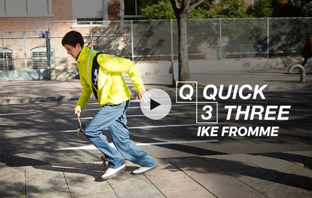 Ike Fromme Quick 3 Barcelona